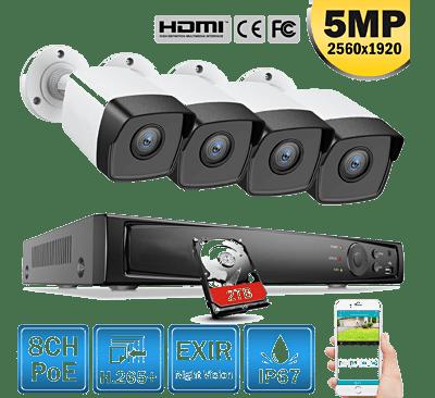 Kit complet - caméra surveillance