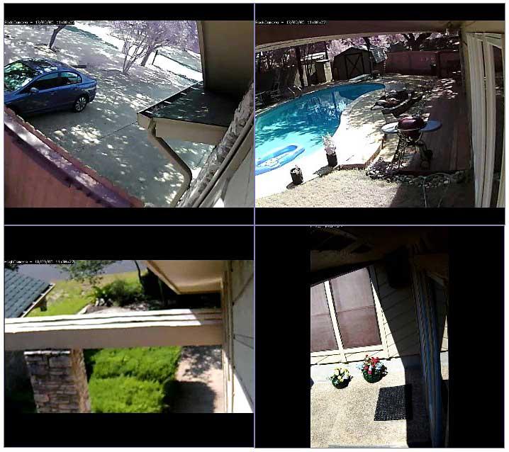 Images vidéo surveillance
