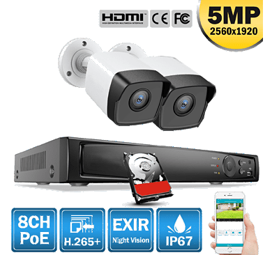 Kit Essentiel - caméra surveillance